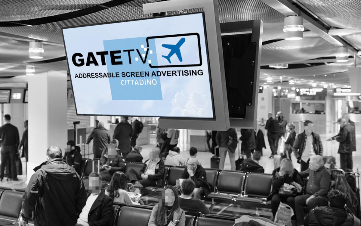 Gate TV Addressable DooH am Airport (Foto: Cittadino)