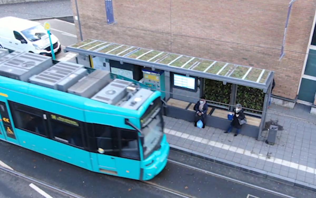 Green Signage in Frankfurt/Main (Foto: invidis)