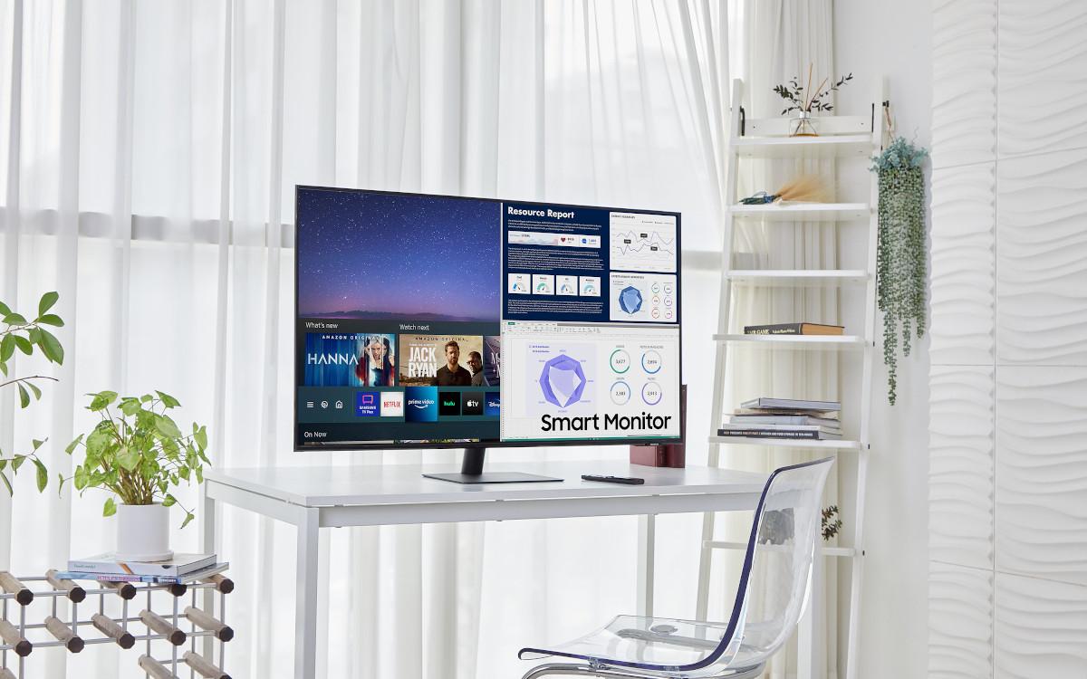 Hybrid Monitor könnte sich auch für den Small Signage eignen (Foto: Samsung)
