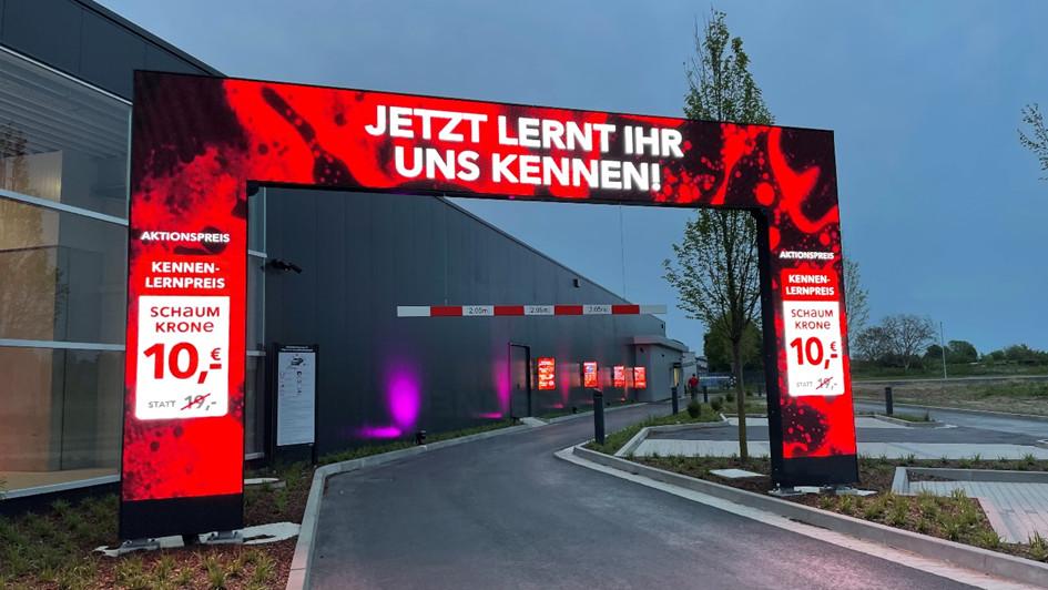 Schaumwerk LED in Hildesheim (Foto: KDH)