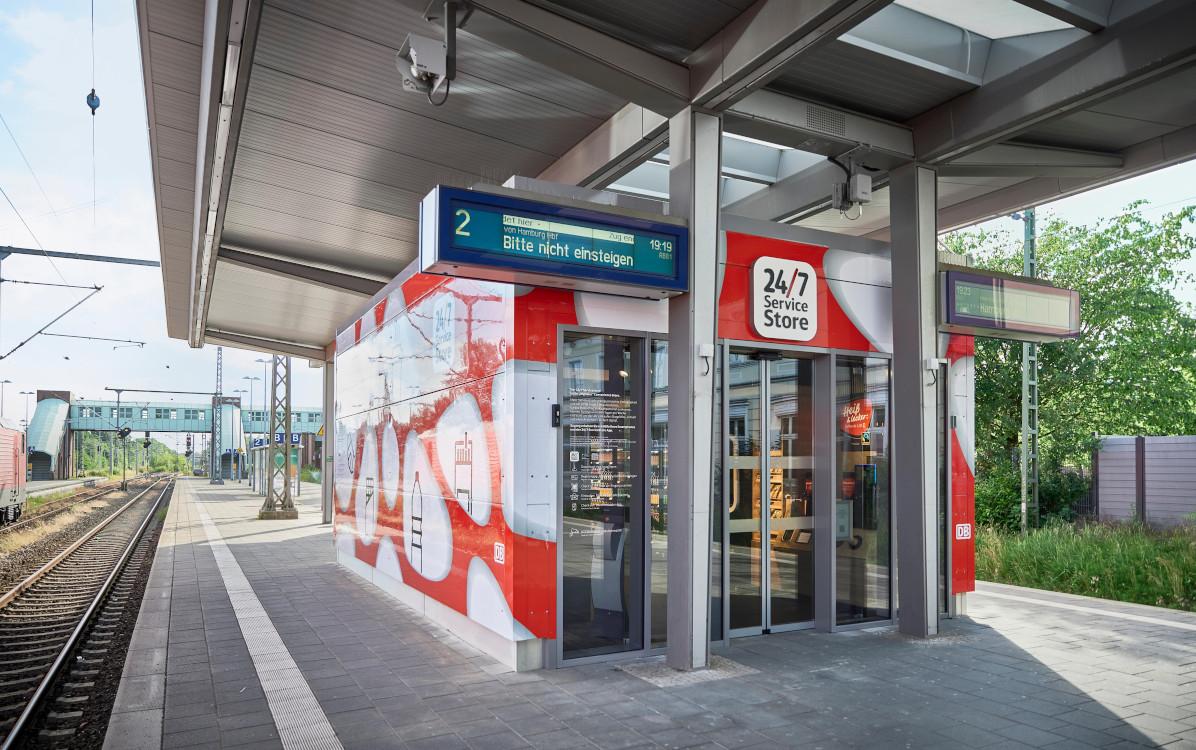 DB Ministore entwickelt mit Valora in Ahrensburg (Foto: DB)