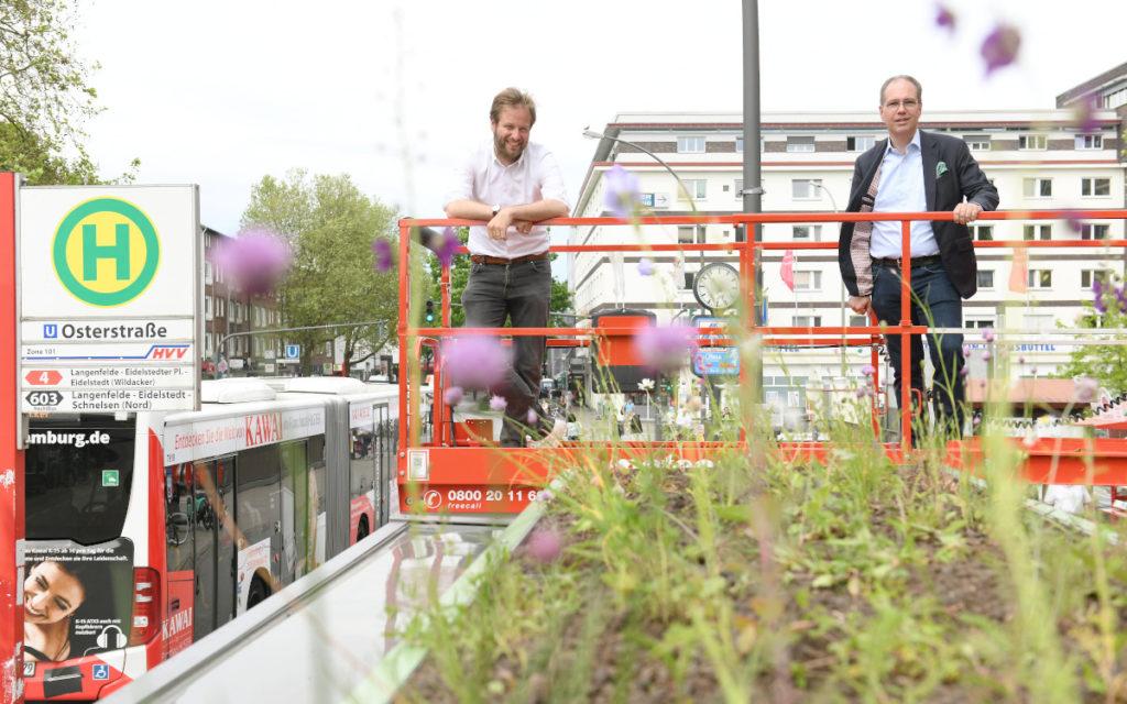 Anjes Tjarks / Verkehrssenator Hamburg und Patrick Möller / Wall (Foto: