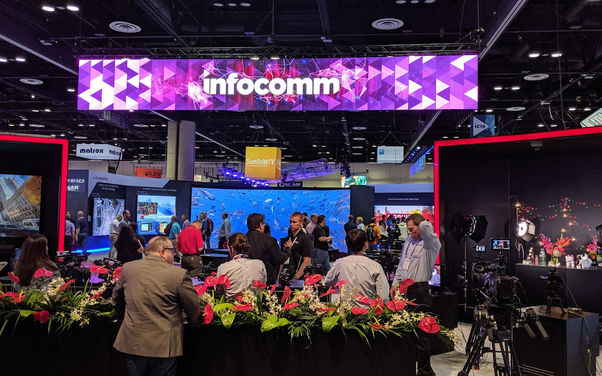 Infocomm ist zurück - Ende Oktober in Orlando (Foto: invidis)