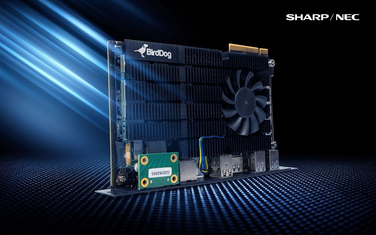 SharpNEC und BirdDog mit neuer SDI.basierten Lösung (Foto: Sharp/NEC)