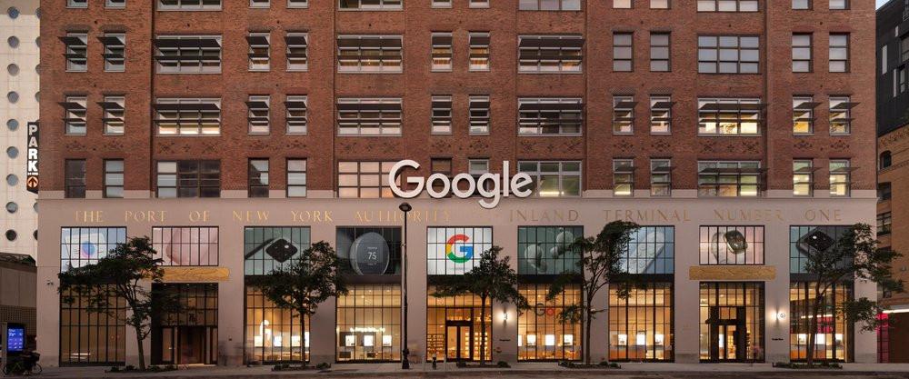 Google Store NYC mit deutscher DS-Technik (Foto: Paul Warchol / Google)