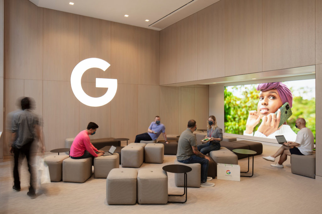 Google Store NYC (Foto: Paul Warchol / Google)
