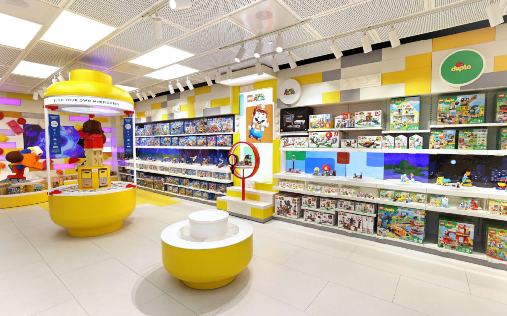 Lego Flagship-Store in New York (Foto: Lego)