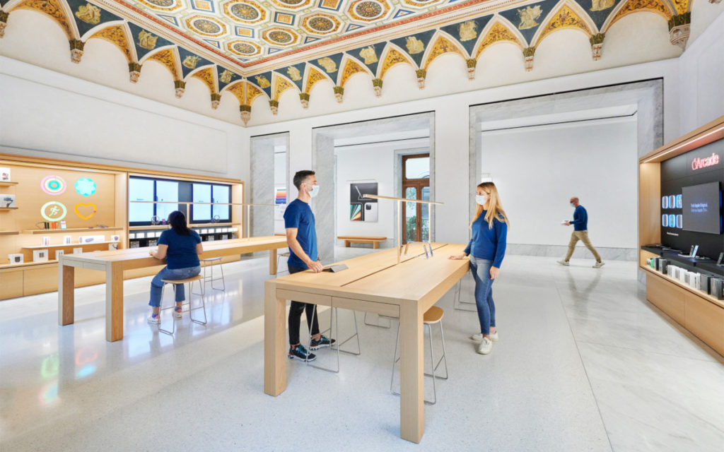 Neue Apple Store in Rom (Foto: Apple)