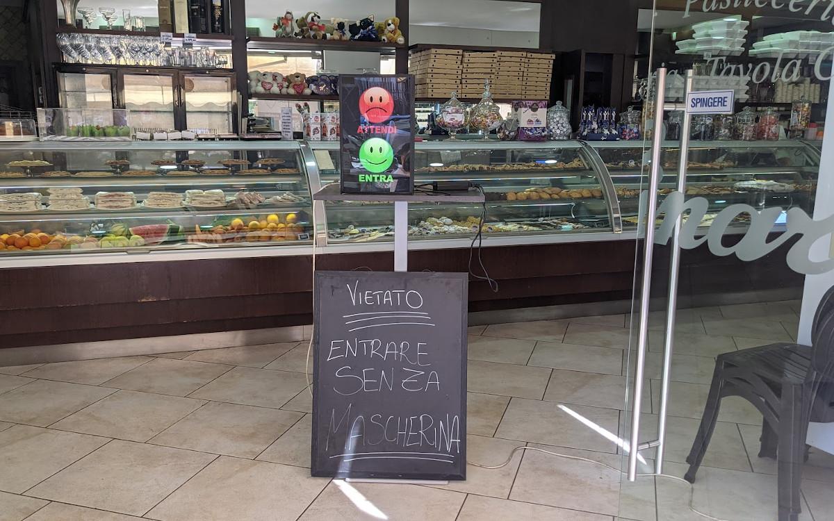 Bäckerei in Rom (Foto: invidis)