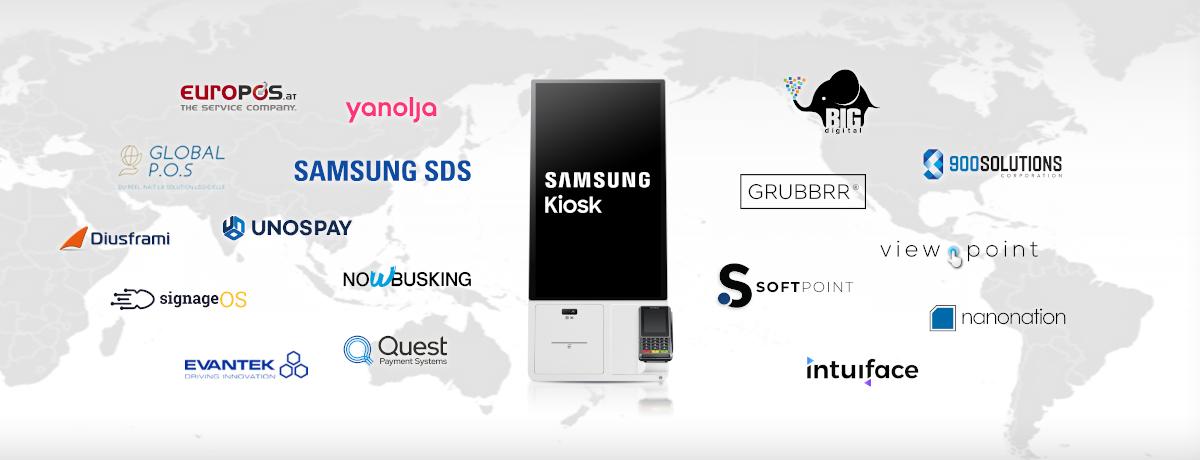 Samsung Kiosk startet mit mehr als 20 Partnern (Foto: Samsung)