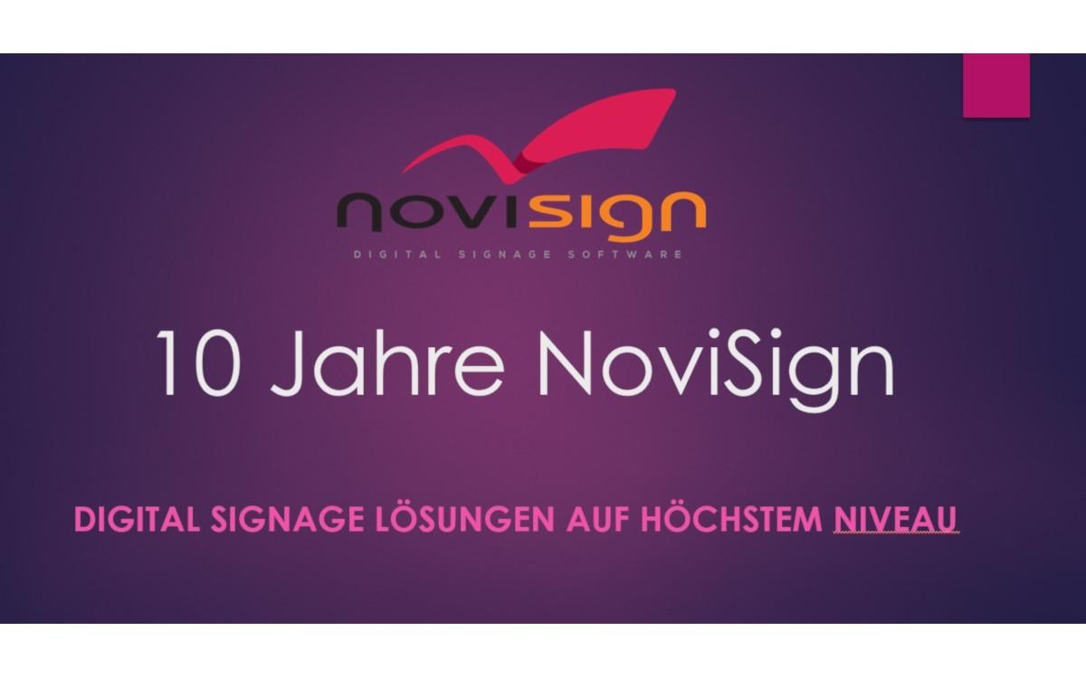 Novisign ist seit mehr 10 Jahren auf dem Markt (Foto: Unternehmen)