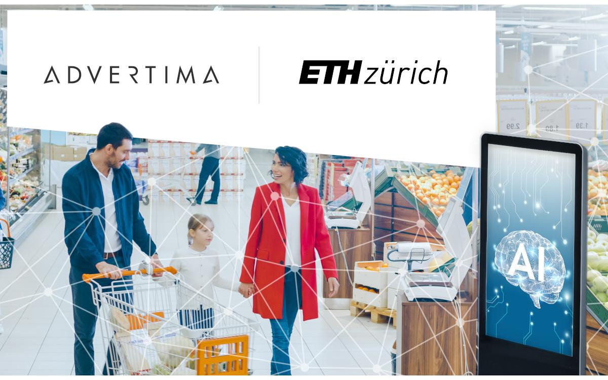Durchbruch - gemeinsames Forschungsprojekt von Advertima und ETH Zürich (Foto: Advertima)