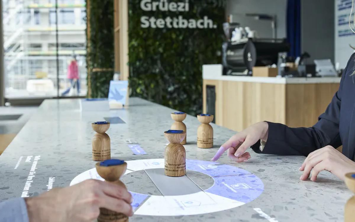 Neues Filialkonzept der Züricher Kantonalbank (Foto: D&P)