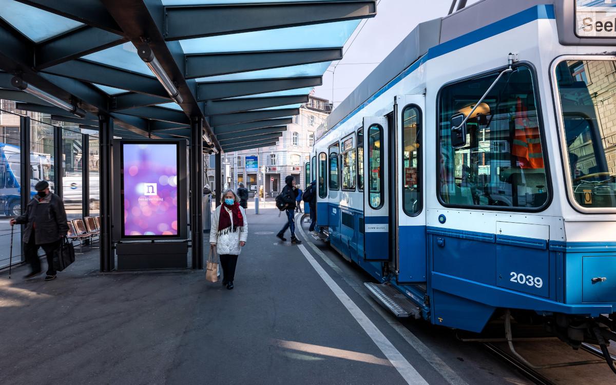 Neo Advertising übernimmt Züricher ÖPNV (Foto: Neo Advertising)
