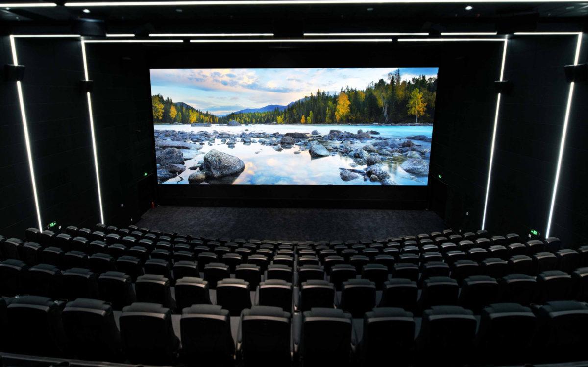 Das LED-Kinodisplay UC-A41 ist nach Angaben von Hersteller Unilumin das größte der Welt. (Foto: Unilumin)