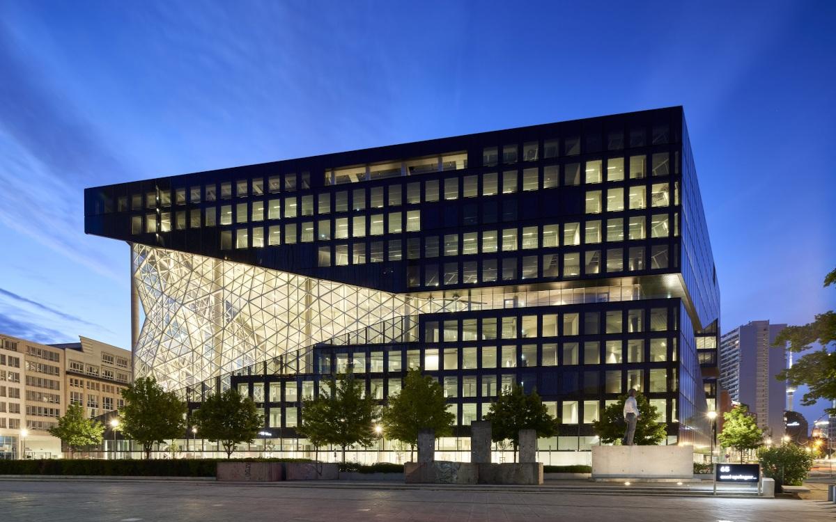 Heimat von Bild und Welt.TV - Neubau von Axel Springer in Berlin (Foto: Axel Springer)