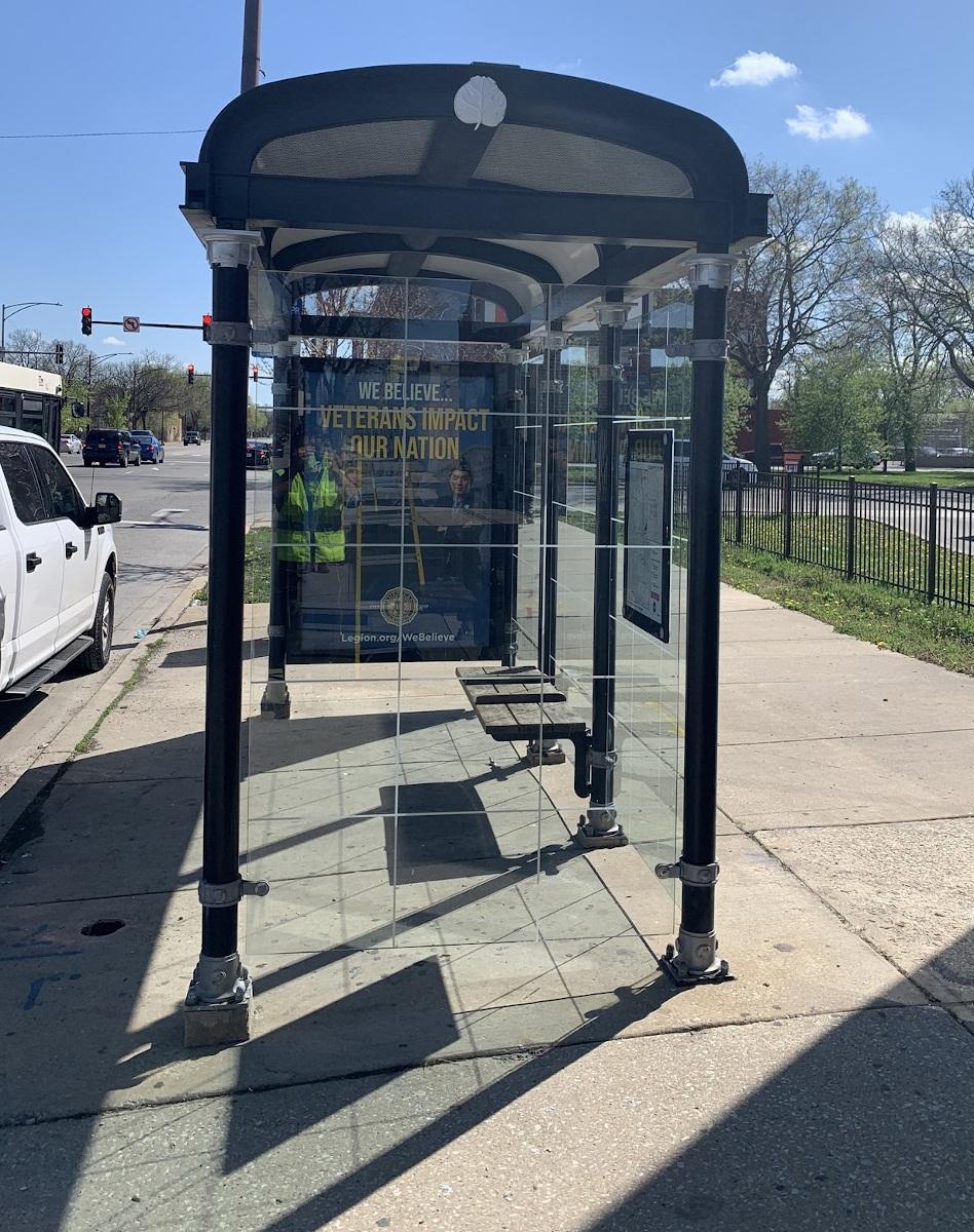 JCDecaux und Microsoft erfassen die Luftqualität in Chicago. (Foto: JCD)