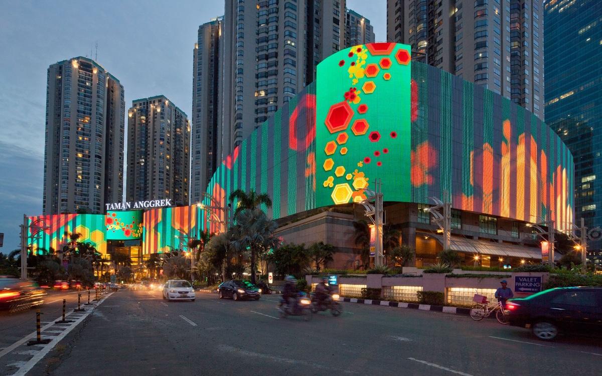 Shopping Center in Jakarta (Foto: Standard Vision)