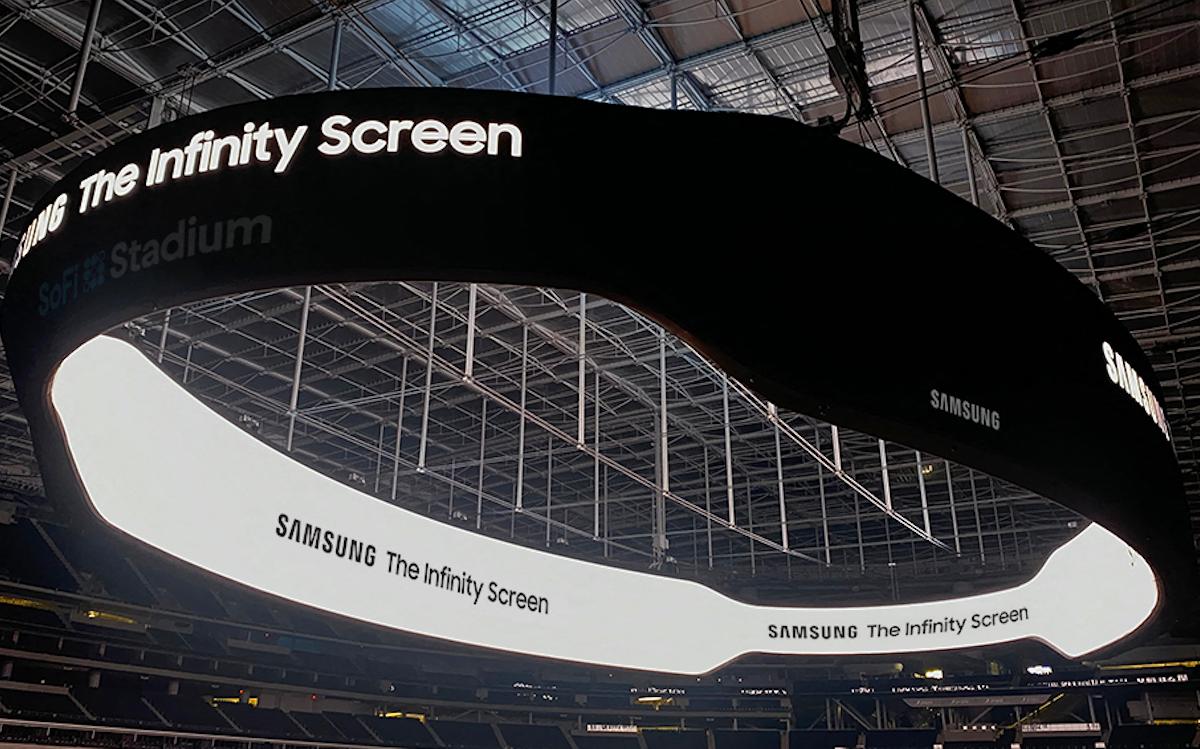 The Infinity Screen von Samsung - 6.500 m² LED (Foto: Samsung)