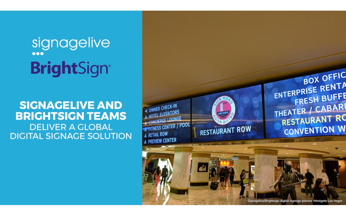 Signagelive jetzt auf Brightsign Mediaplayer vorinstalliert (Foto: Signagelive)