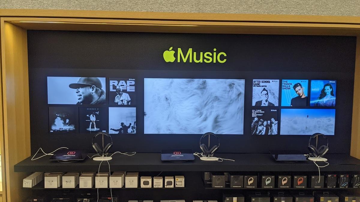 Auch bei Apple Music feiert der Rahmen ein Comeback. (Foto: invidis)