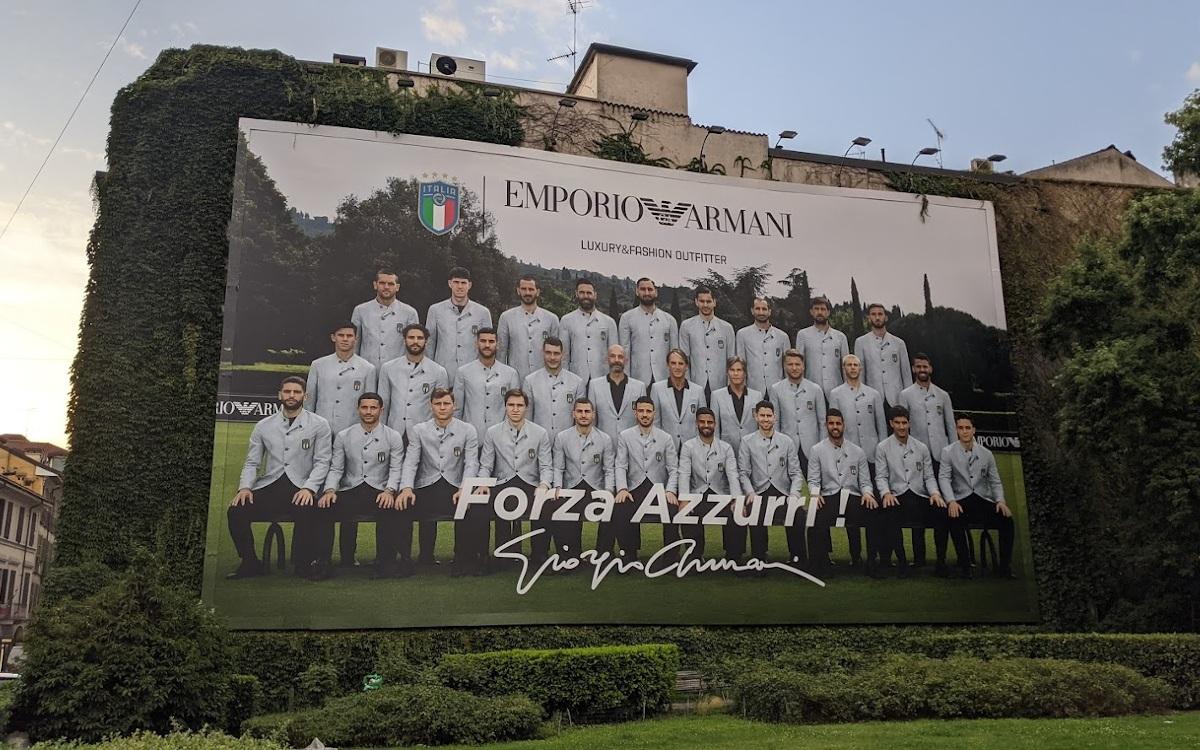 Armani schneiderte Anzüge für den neuen Europameister. (Foto: invidis)