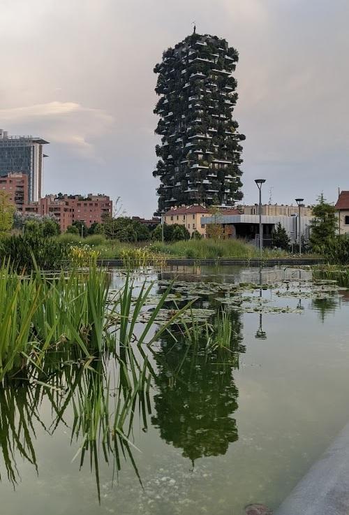 Bosco Verticale in Mailand (Foto: invidis)