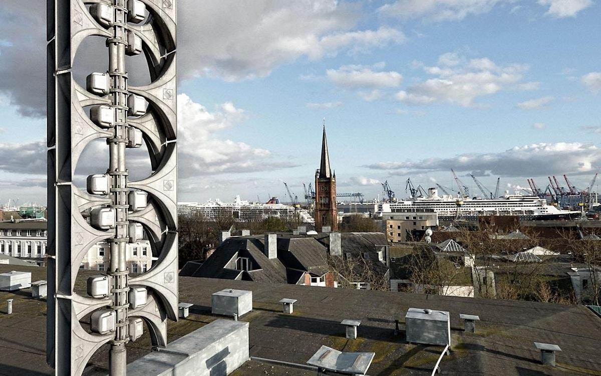 Elektronische Sirene von Hörmann in Hamburg (Foto: Hörmann)