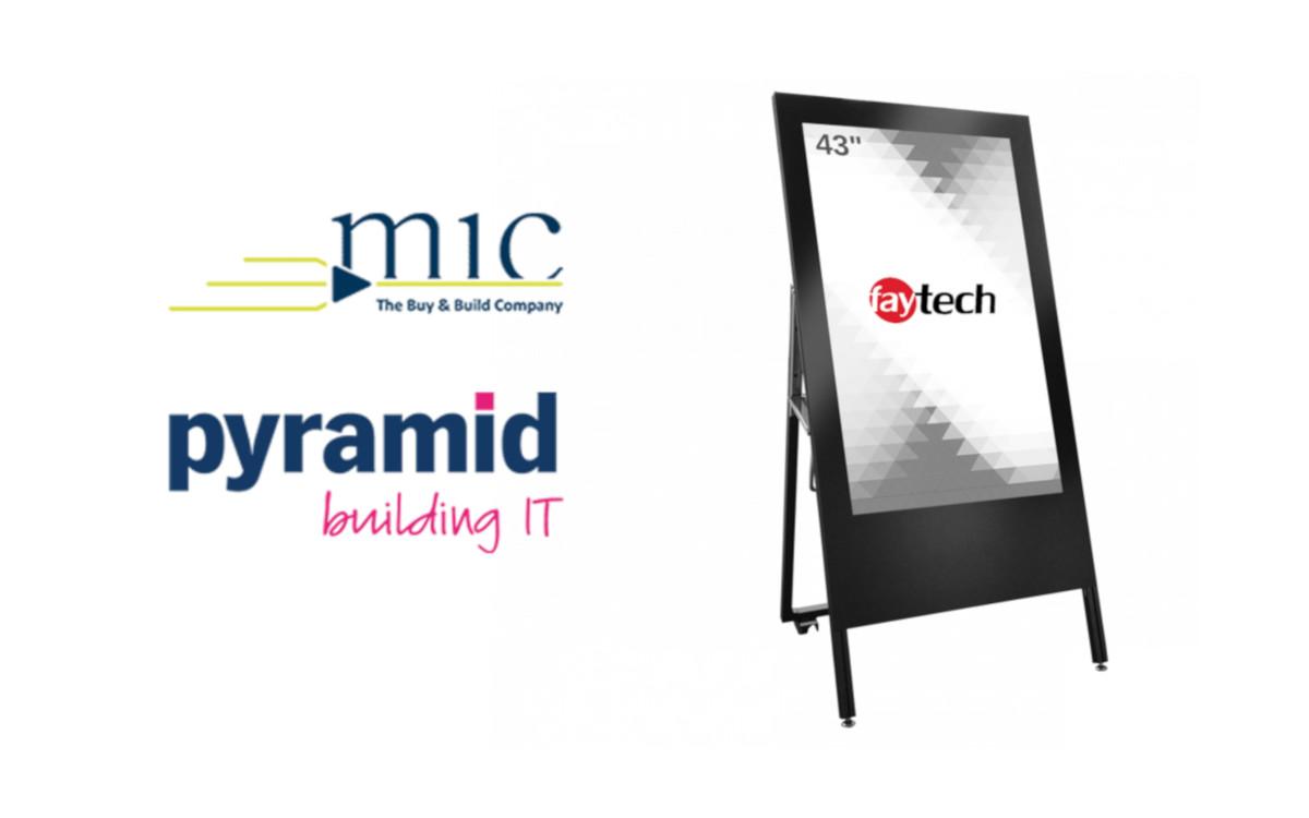 MIC/Pyramid plant Übernahme von Faytech. (Fotos: Unternehmen)