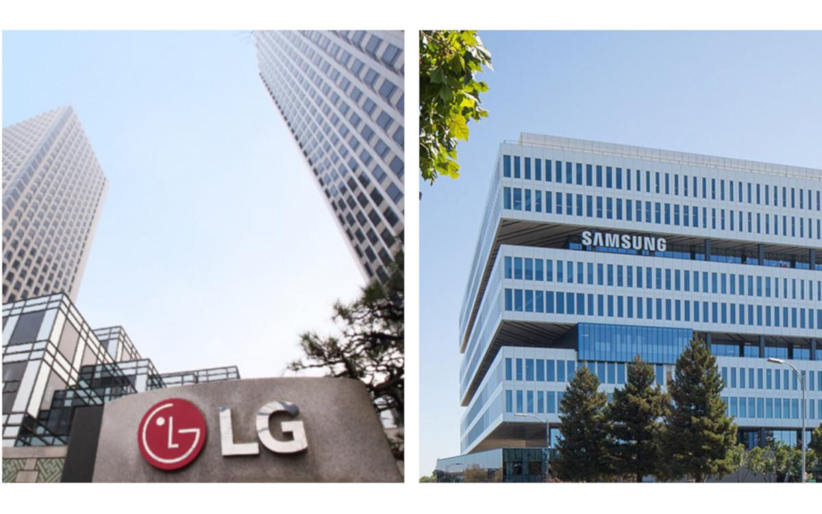 LG und Samsung erzielen Rekordumsätze (Foto: LG/Samsung)