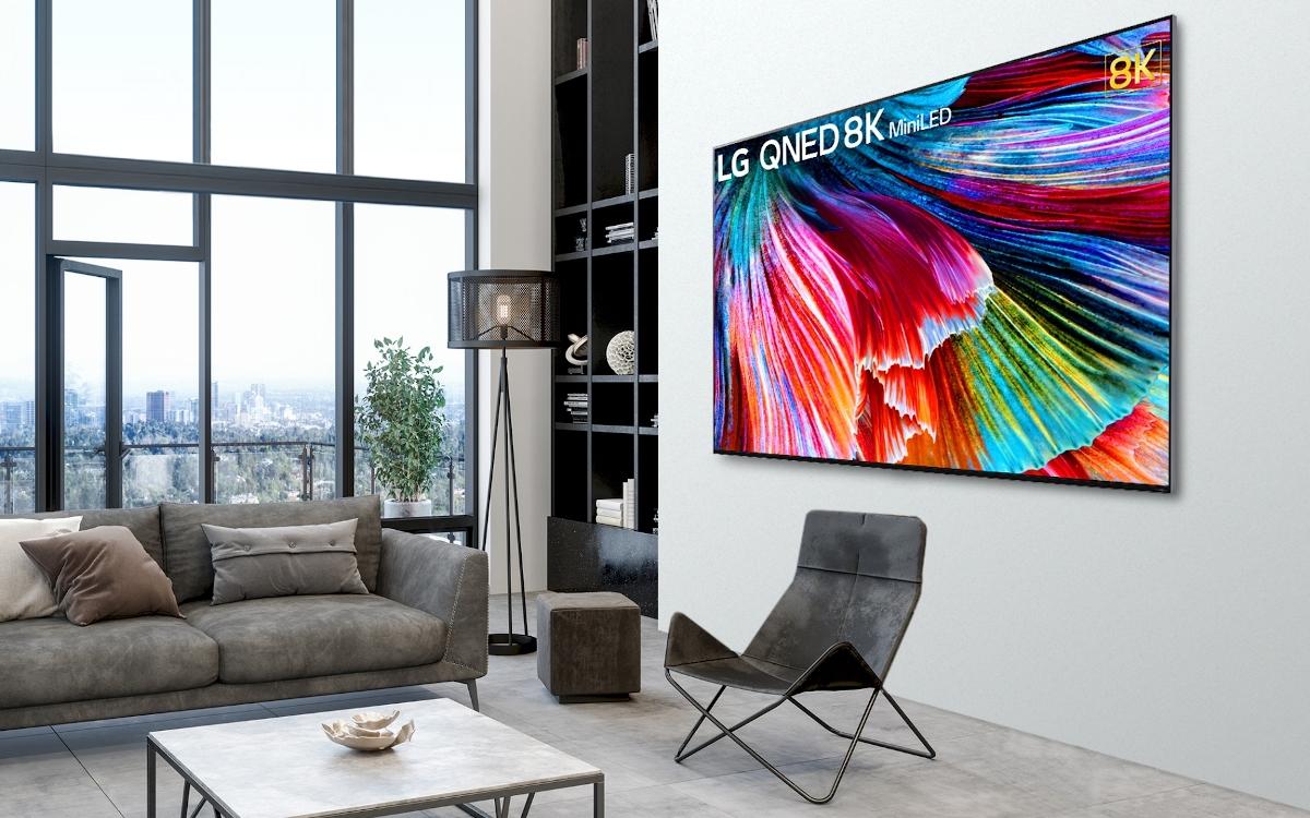 LG QNED Display mit 30.000 Mini LED Backlight (Foto: LG)