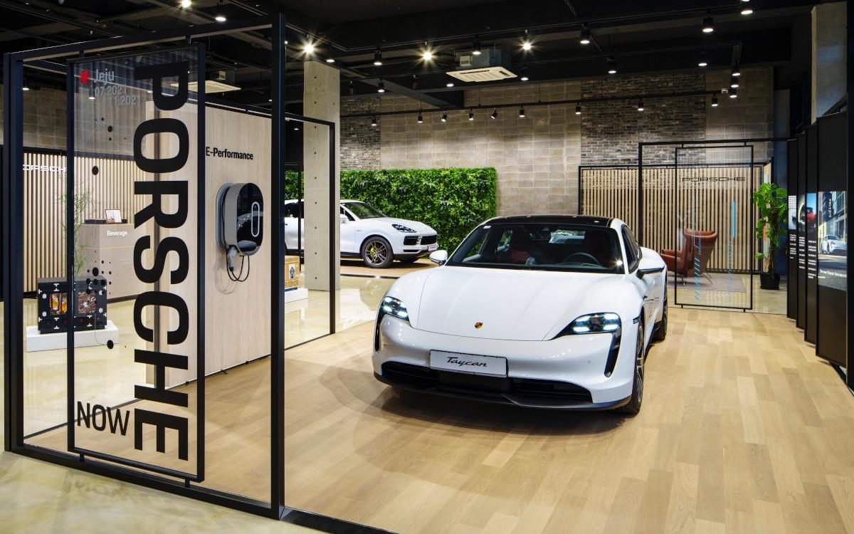 Porsche Popup in Jeju (Foto: Porsche)