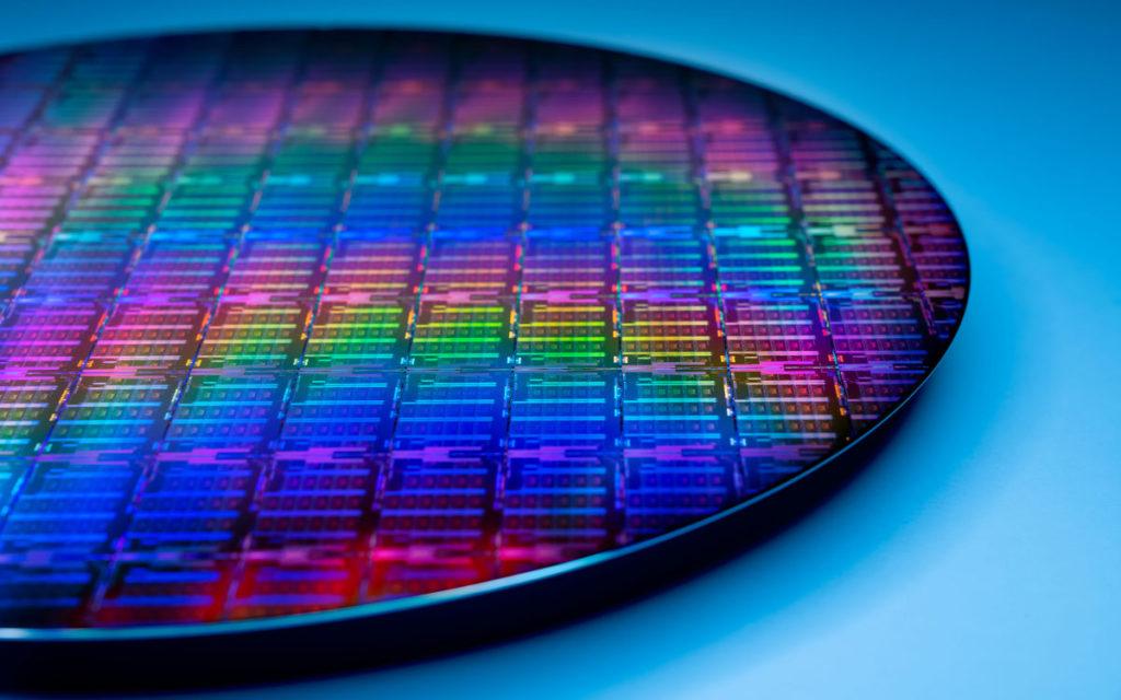 Semiconductor Chip-Produktion bei Intel (Foto: Intel)