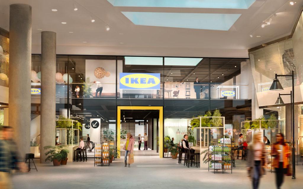 Neues Ikea Stadthaus-Konzept in Stockholm (Foto: BSK Arkitekter)