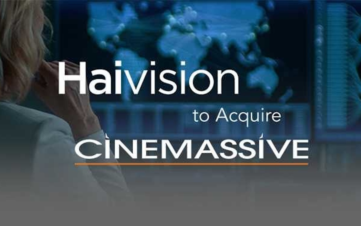 Haivision übernimmt Cinemassive (Foto: Haivision)