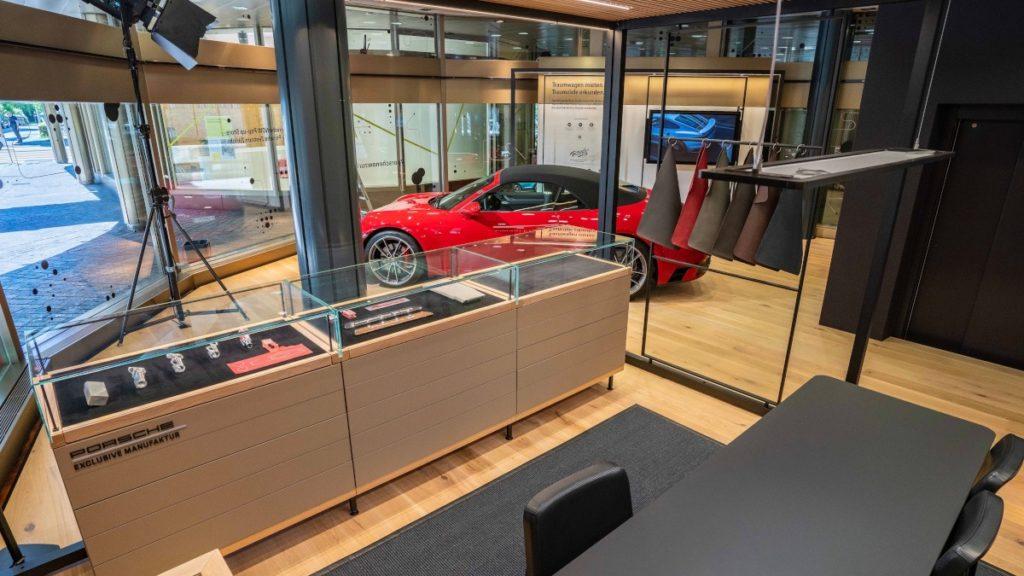 Porsche Now in Zürich (Foto: Porsche)