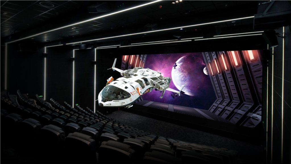 Die LED-Leinwand hat ein Format von rund 16 mal 8 Metern. (Foto: Unilumin)