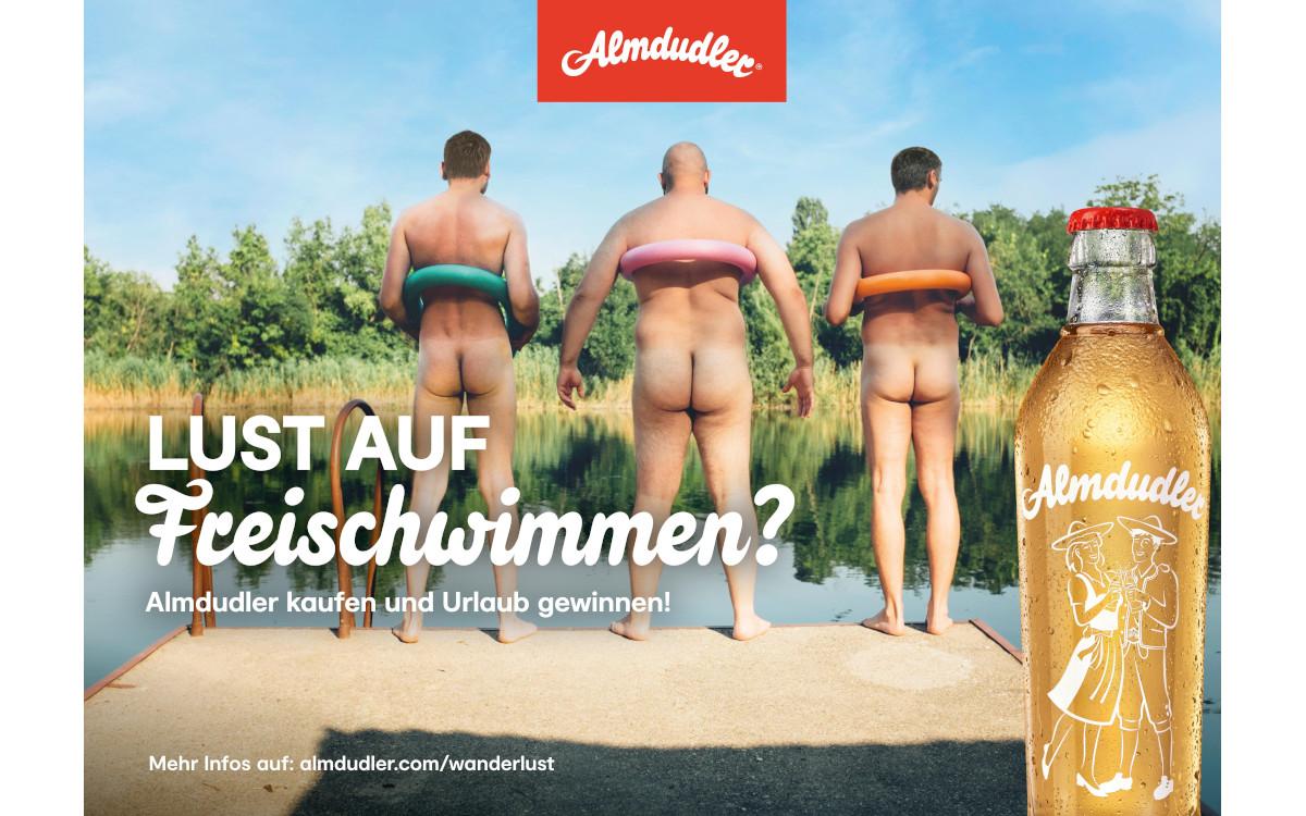 Die neue Kampagne von Almdudler ermutigt zum Sommerurlaub. (Foto: Almdudler)