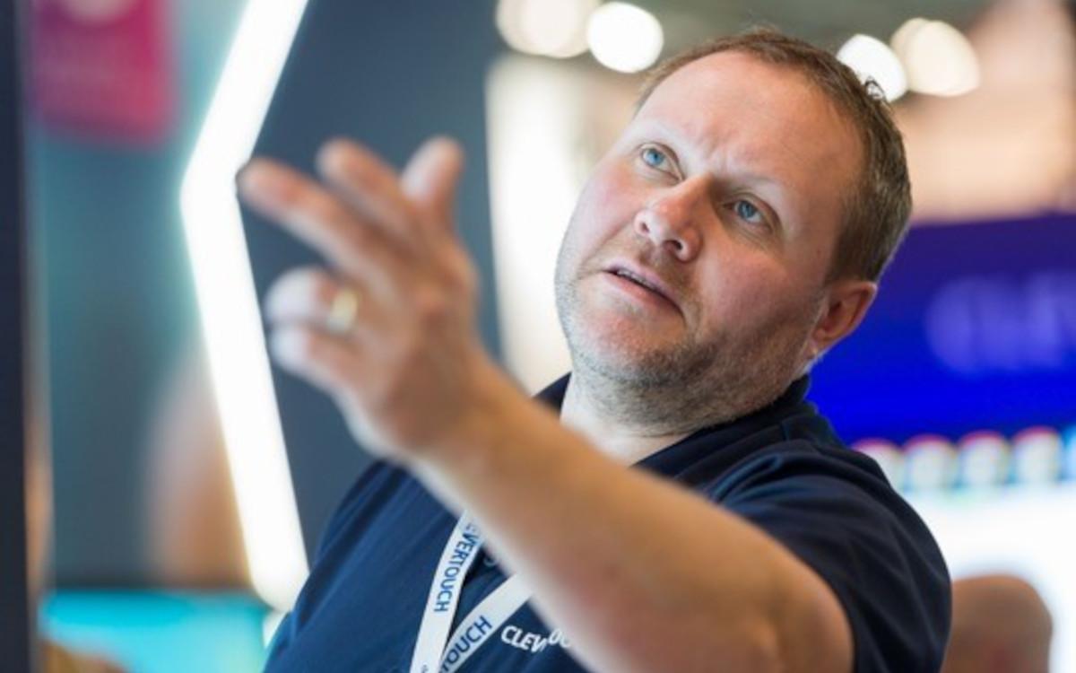 Shaun Marklew, CTO von Boxlight und der Marke Clevertouch Technologies, sieht die Intel-Partnerschaft als Möglichkeit, sich schneller weiterzuentwickeln.