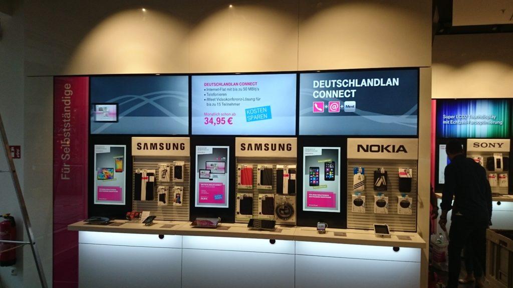 Im Retailbereich muss Digital Signage heute mehr als nur informieren, die Lösungen müssen den Beratungsprozess unterstützen. (Foto: MDT)