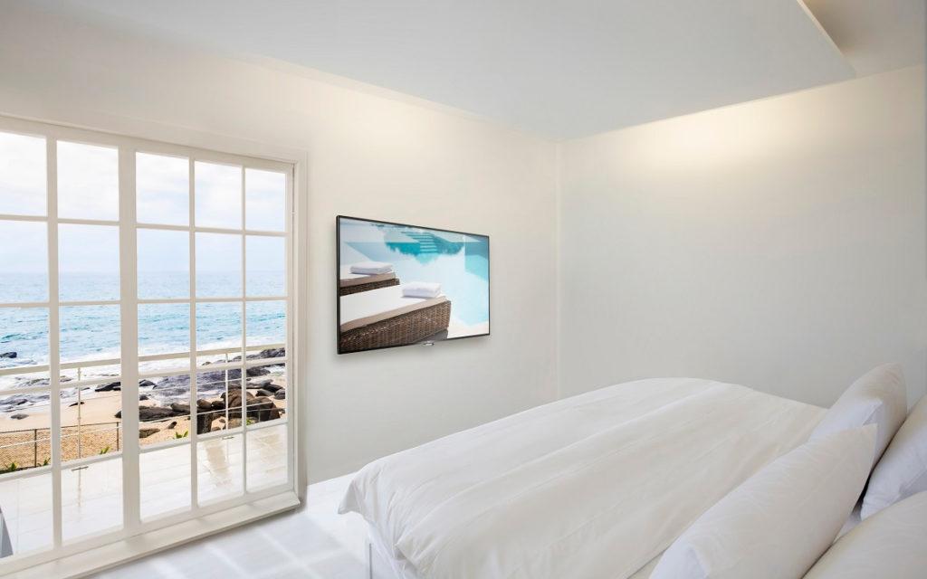 Die Philips Mediasuite TVs bieten auch in Verbindung mit den Property-Management-Systemen viele Zusatzfunktionen an. (Foto: PPDS)