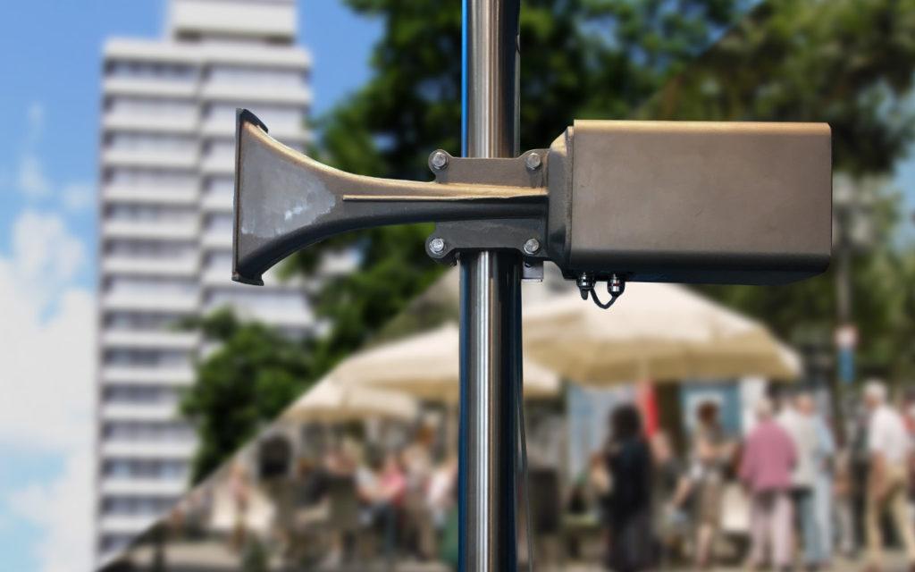Die Kaiserslauterner Sirenen können auch sprachliche Mitteilungen senden. (Foto: Stadt Kaiserslautern)