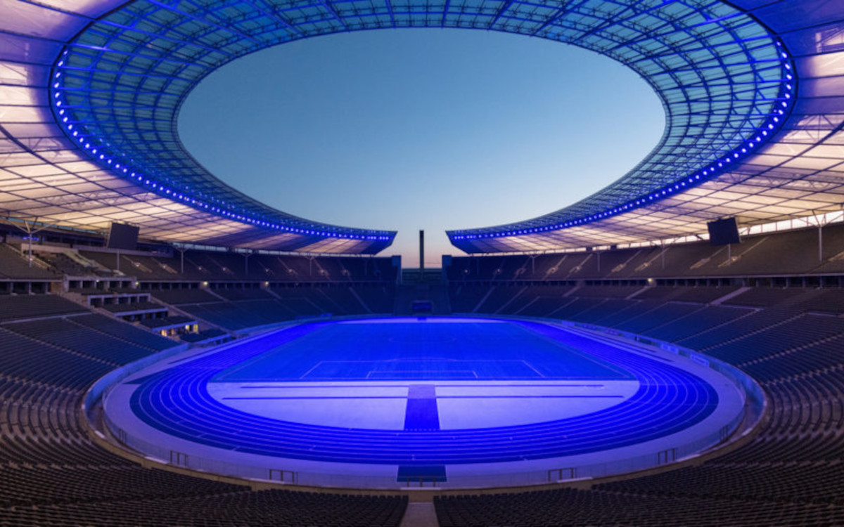 Das Berliner Olympiastadion wird für die EM 2024 modernisiert - unter anderem mit Digital Signage. (Foto: Reiher & Seidel & Olympiastadion Berlin)