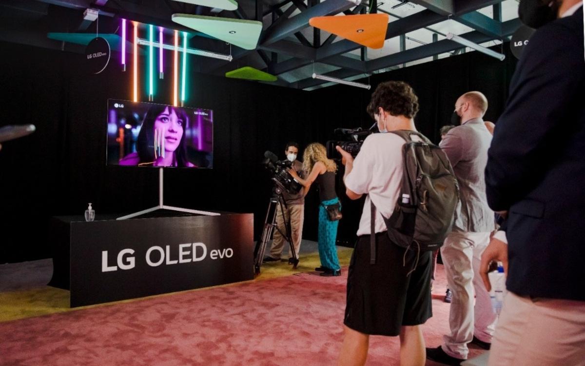 LG und die ESNE-University luden zur echten Ausstellung digitaler Kunstwerke (Foto: LG)