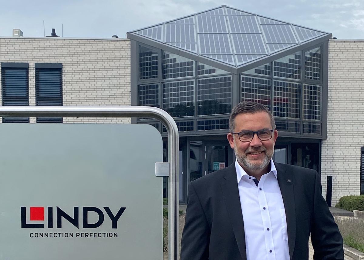 Der neue Key Account Manager DACH von Lindy: Matthias Monsieur (Foto: Lindy)