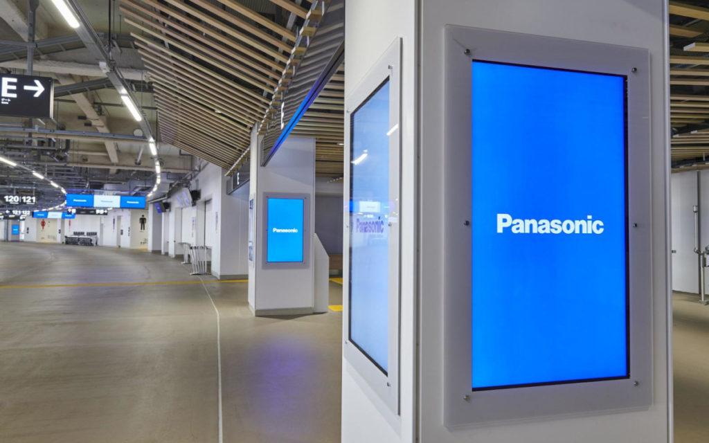 Das ganze Paket: Panasonic versah das Stadion mit Screens ... (Foto: Panasonic)