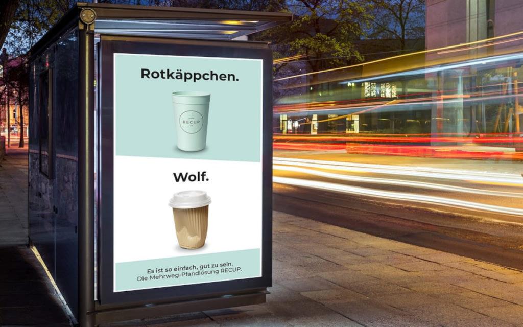 Die Recup-Kampagne umfasst Märchengestalten ... (Foto: Recup)
