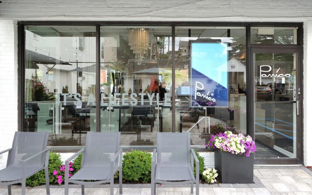Windows-Display für die Vorderseite des Salons (Foto: Mike Coppola/Getty Images for Samsung and Panico Salon)