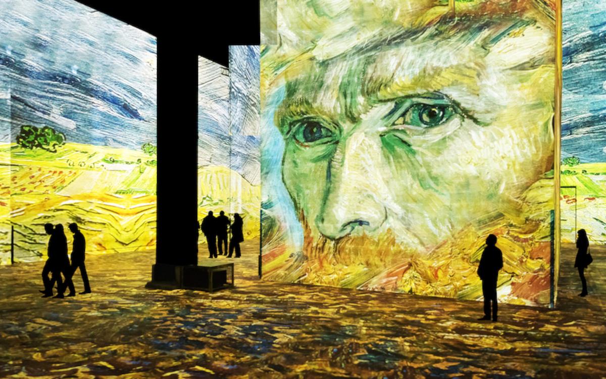 Das neue digitale Kunstcenter Infinity de Lumières ist 2.700 Quadratmeter groß. (Bild: Infinity de Lumières)