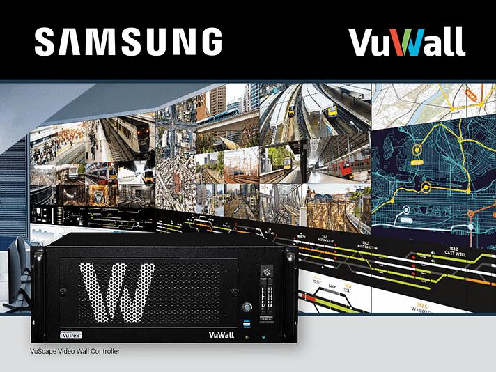 Eine Zusammenarbeit von Vuwall und Samsung im Bereich Kontrollraum besteht bereits länger. (Bild: Vuwall/Samsung)